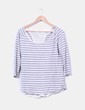 Doble camiseta de rayas Maison Scotch