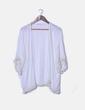 Kimono blanco fluido Celina