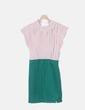 Vestido combinado bicolor Kling