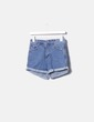 Short denim high waist YBC