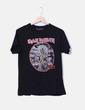 Camiseta negra Iron Maiden Pull&Bear