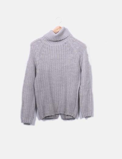 Beige jersey knit Pull&Bear