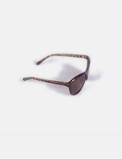 Gafas de sol animal print marrones
