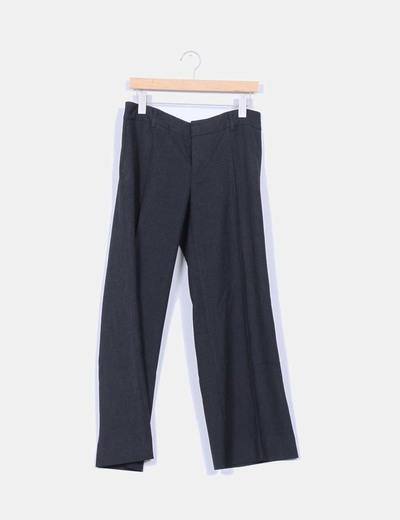 Pantalón de traje gris oscuro NoName