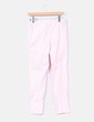 Pantalon rose imprimé rétro Atmosphere