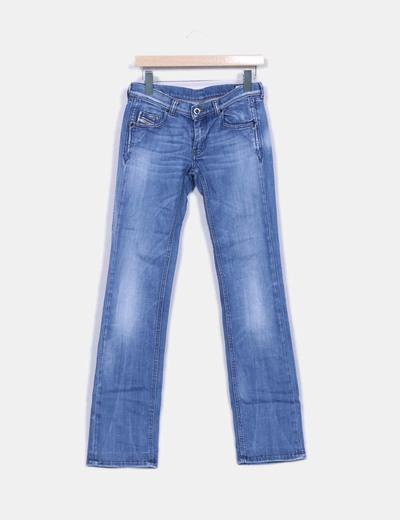 Jean bleu denim bootcut Diesel