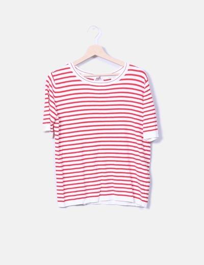 T-shirt en maille rayé Easy Wear