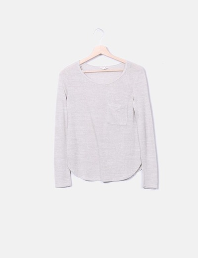 Pull beige tricot Springfield