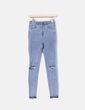 Jeans gris ripped desflecado Pull&Bear