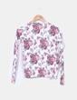 Chaqueta tricot floral Sfera