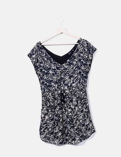 Printed dress Shana