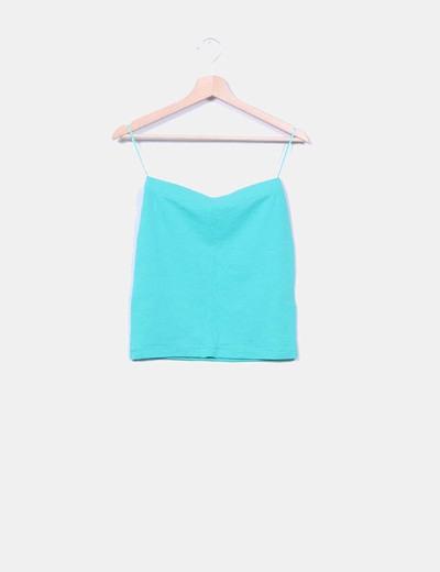 Falda mini verde Amisu