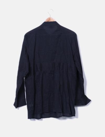 Blusa negra detalle pedreria