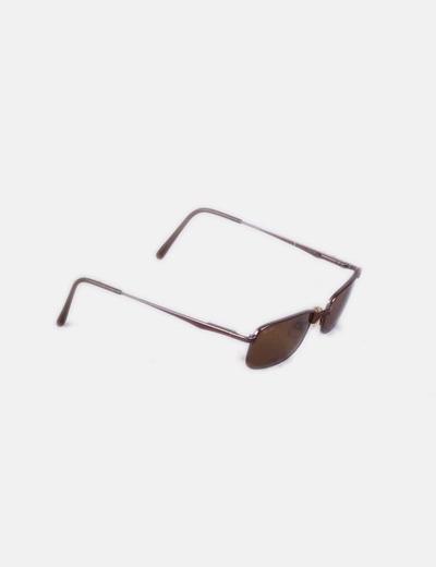 c0b2a93cf5df8 Ray Ban Óculos de sol retangulares marrons (desconto de 79%) - Micolet