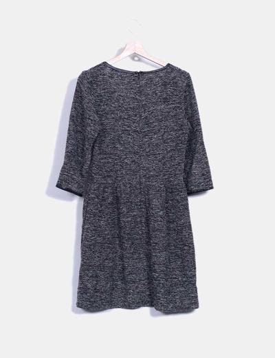 Vestido tricot con brillos