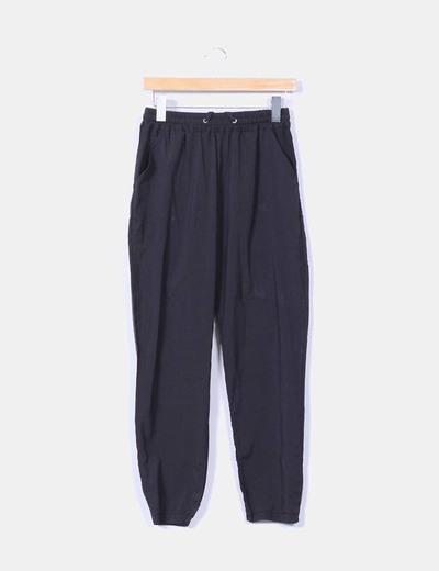 Pantalón negro baggy NoName