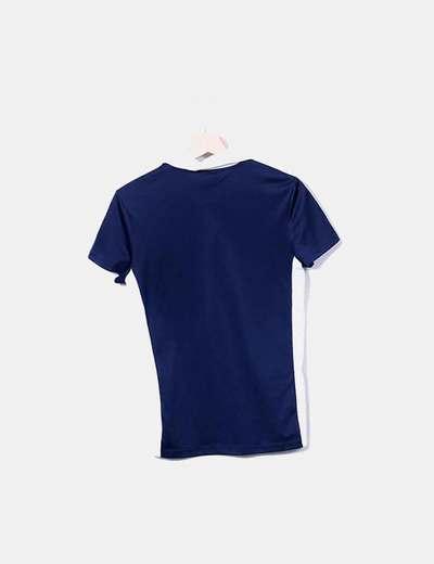 Camiseta deportiva bicolor