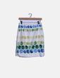 Falda blanca print colores Caster