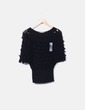 Jersey de punto negro texturizado NoName