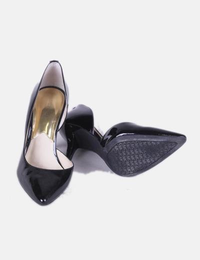 Zapato salon negro