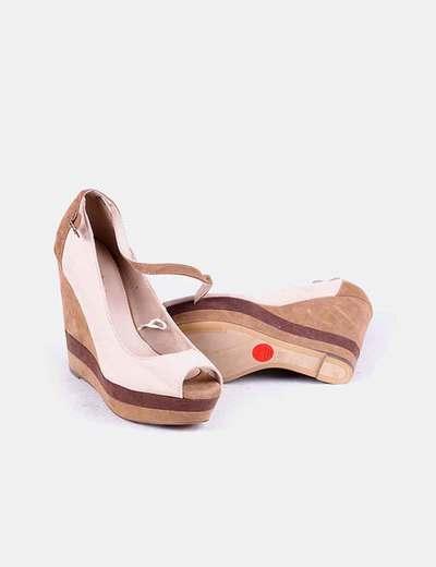 Zapato cuna beige