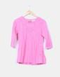 Blusa rosa con paillettes Orchestra