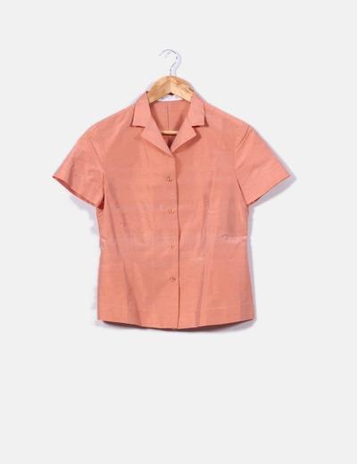 Robe rose chemise et un pantalon Purificación García