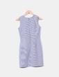 Vestido cuadros azules y blancos Precchio Colors Concept