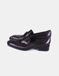 Zapato marrón con puntera Gastone Lucioli