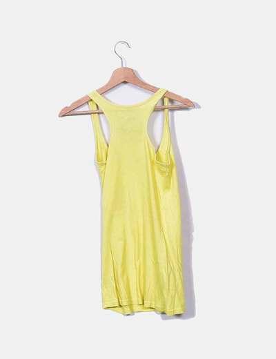 Camiseta nadadora amarilla