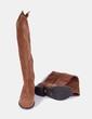 Botas corsario ante marrón Cortefiel
