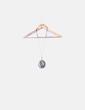 Collar de cuerda con abalorios de colores NoName