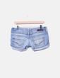 Short cassé en jeans Bershka