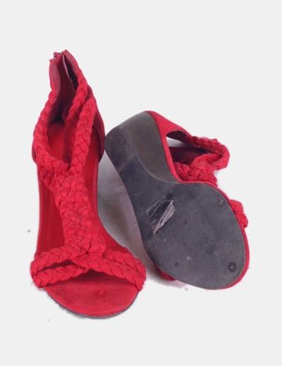 Sandalia de cuna trenzada