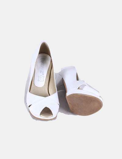 Marypaz Peep Vnonw0m8 Zapato Toe 96micolet Blancodescuento SULqVMGzp