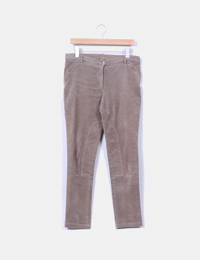 Pantalon marron de pana