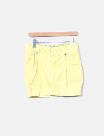 Falda amarilla NoName