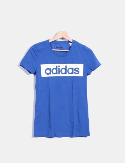 "Camiseta azul "" Adidas"""
