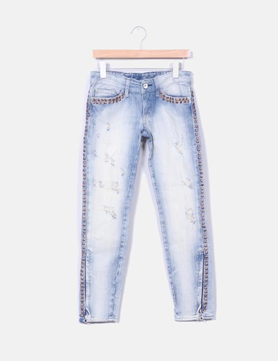 Pantalón denim stretch Nolita