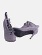 Botín gris con borlas BLISS Couture