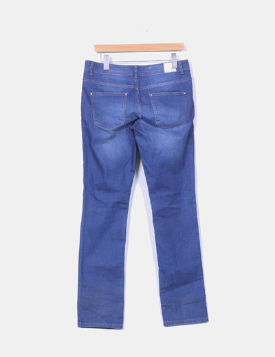 Pantalon denim recto