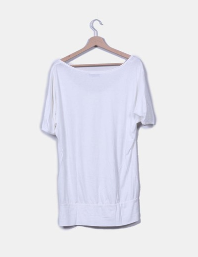 Camiseta blanca oversize
