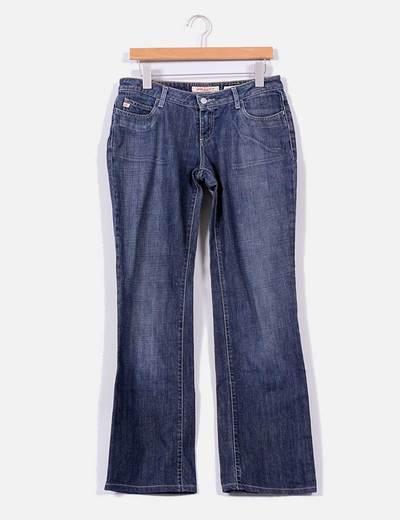 Jeans rectos efecto desgastado Miss Sixty