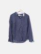 T-shirt bleu avec mouchetures Pedro del Hierro