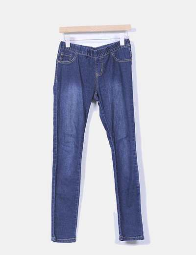 Jeggings denim azul oscuro Atmosphere