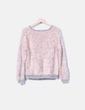 Jersey rosa de pelo Bershka