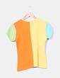 Top patchwork colores René Derhy