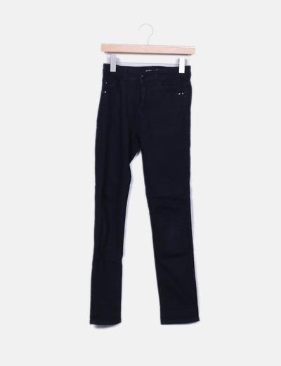 Jeans noirs slim fit Grain de Malice