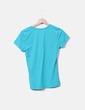 camiseta azul cuello pico Atmosphere