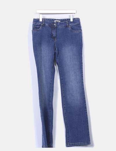 Jeans recto con tachas en los bolsillos Tribune